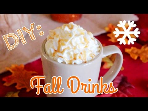 3 Fall + Holiday Hot Drinks In Less Than 4 Minutes!