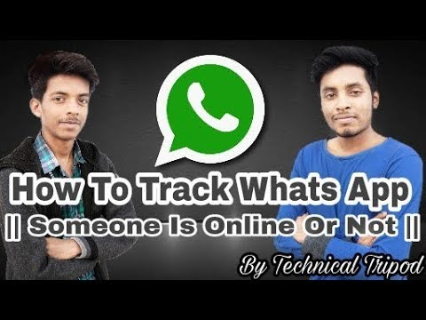How To Track WhatsApp || SomeOne Online Or Not
