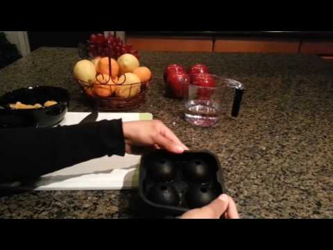 How to fill a Budget Life Ice Ball mold - Large Ice Cube Mold