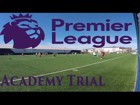 Premier League Academy Trial - The Journey - The Great David R