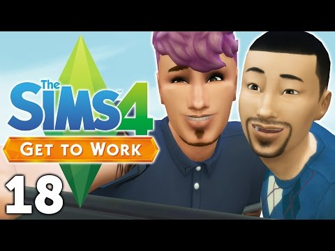 Let's Play The Sims 4 Get to Work - Part 18 - The Roadstead!