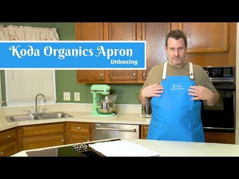 Koda Organics Apron Unboxing ~ Eric's New Apron ~ Essential Kitchen Tools ~ Amy Learns to Cook