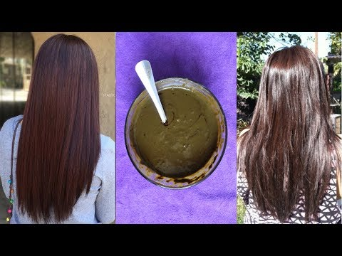 100% natural | How to Hair color at home naturally | Dark brown Colour | chocolaty brown hair color