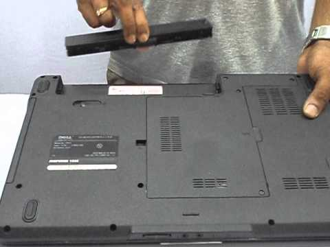 How to remove dell inspiron 1545 laptop battery