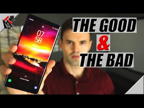 SAMSUNG GALAXY NOTE 8 in 2018 - My Experience GOOD and BAD