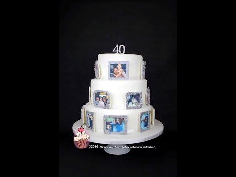 Photo Memory cake