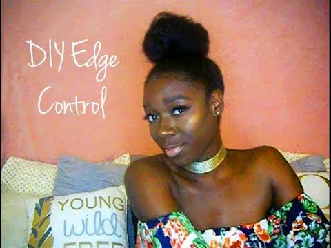 DIY Edge Control? Lay those edges with DIY Flaxseed Gel!