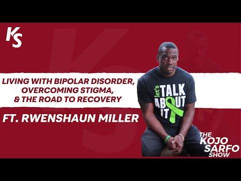 Ep 15. - Living With Bipolar Disorder, Overcoming Stigma, & The Road To Recovery + More!