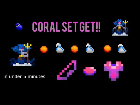 RotMG: Getting the Entire Coral Set in Under 5 Mins. (Winnah Commentary :3)