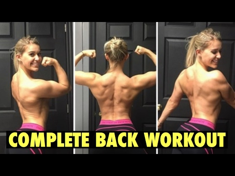 COMPLETE BACK WORKOUT | HOW TO MAKE YOUR WAIST LOOK SMALLER