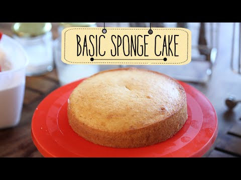 Eggless Sponge Cake | Easy Cake Recipe | Beat Batter Bake With Priyanka
