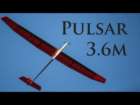 Maiden Flight of Vladimir Pulsar 3.6m ARE Soarer