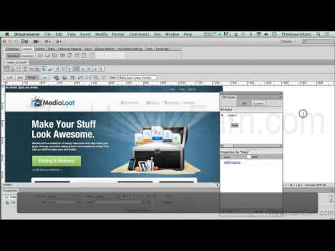 How to use Adobe Dreamweaver Cs6 to build a complete responsive design website