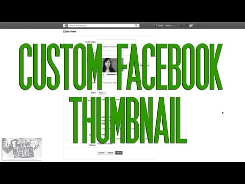 How to Add a Custom Thumbnail to Your Facebook Page Videos
