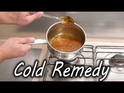 Home Made Cold and Flu Remedy