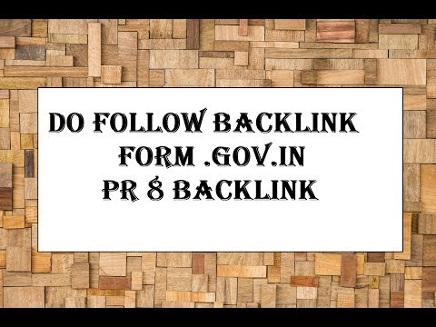 Unlimited Do Follow backlinks from mygov.in websites high pr do follow backlink mygov.in