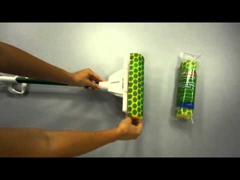 Replacing Libman Nitty Gritty Roller Mop head