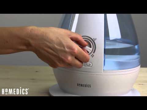 HoMedics Ultrasonic Cool Mist Humidifier (Small to Medium Sized Rooms)