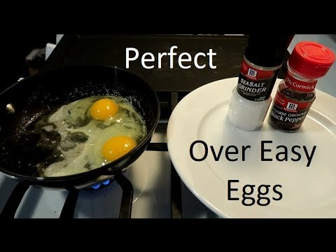 Perfect over easy eggs!