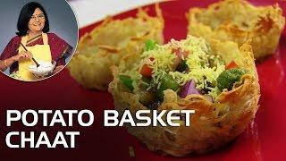 Download Potato Basket Chaat With Master Chef Tarla Dalal