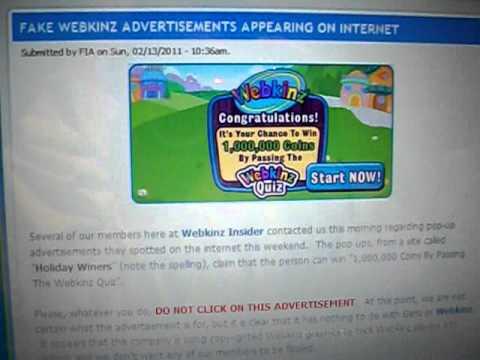 FAKE webkinz ad!!! DO NOT CLICK