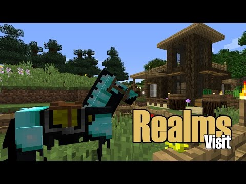 Minecraft - Visiting Your Realm | Lake House Build