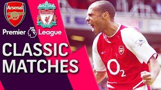 Arsenal V Liverpool PREMIER LEAGUE CLASSIC MATCH 04092004 NBC Sports