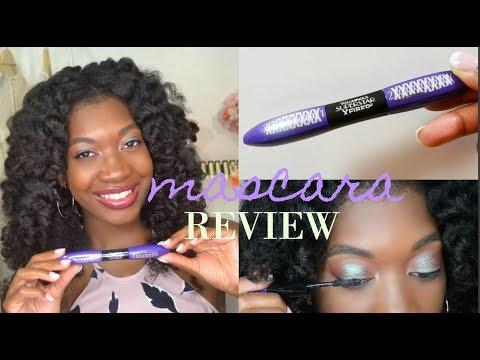 L'oreal Voluminous X Fiber Mascara Review | Is it better than L'oreal False Fiber Lashes ??