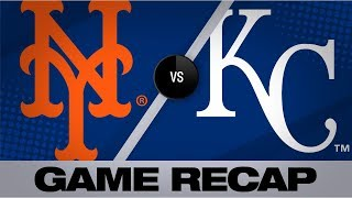 Alonso sets NL rookie record in 6-run 7th | Mets-Royals Game Highlights 8/18/19