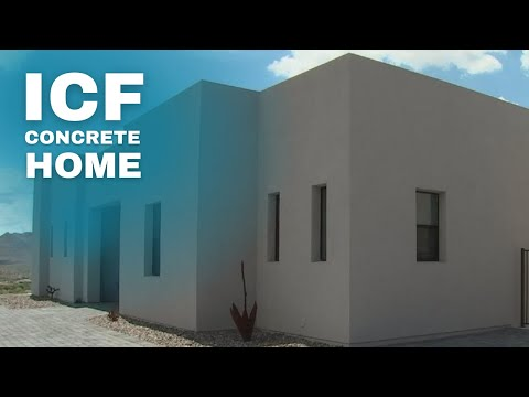 ICF Concrete Home