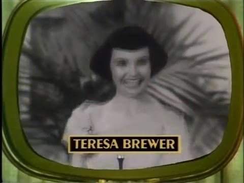 History of the Snader telescriptions - TV music videos 1950s
