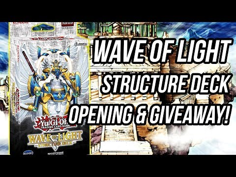 Yu-Gi-Oh! Wave of Light Counter Fairy Structure Deck Opening & Review!