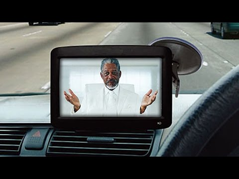 Waze App Lets Morgan Freeman Give You Directions