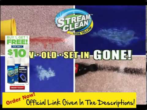 How To Get Stains Out Of Carpet! Get Stream Clean ! The Stand Up Way To Blast Pet Stains & Odors Awa