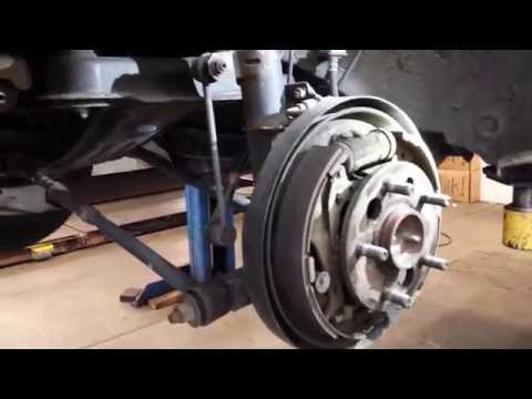 2001 Toyota Camry Check Rear Brakes