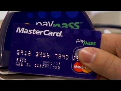 Charge it! MasterCard and Visa surge