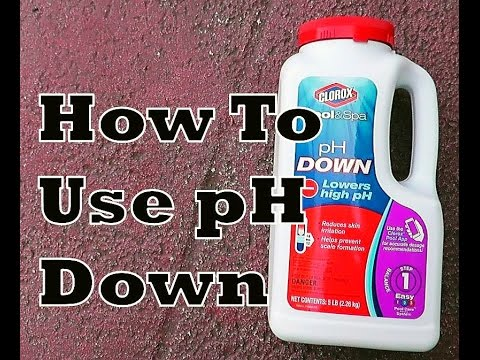 How To Lower pH In Pool  | Use Clorox pH Down