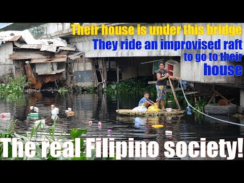 Life in the Philippines. Travel to the Philippines and Meet this Family Who Live Under the Bridge