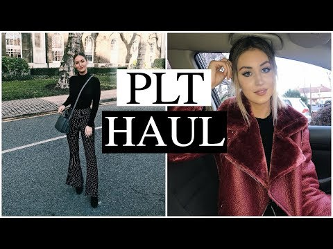 PRETTY LITTLE THING HAUL | TRY ON | 2018