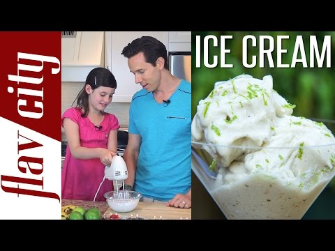 Banana Coconut Ice Cream - Vegan Recipe