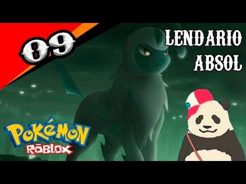 POKÉMON BRICK BRONZE ROBLOX #09 - O LENDÁRIO ABSOL QUE FALA!!!