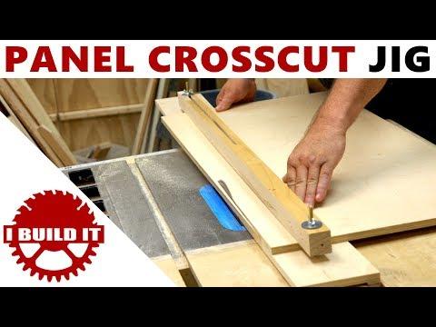 Make A Wide Panel Crosscut Jig