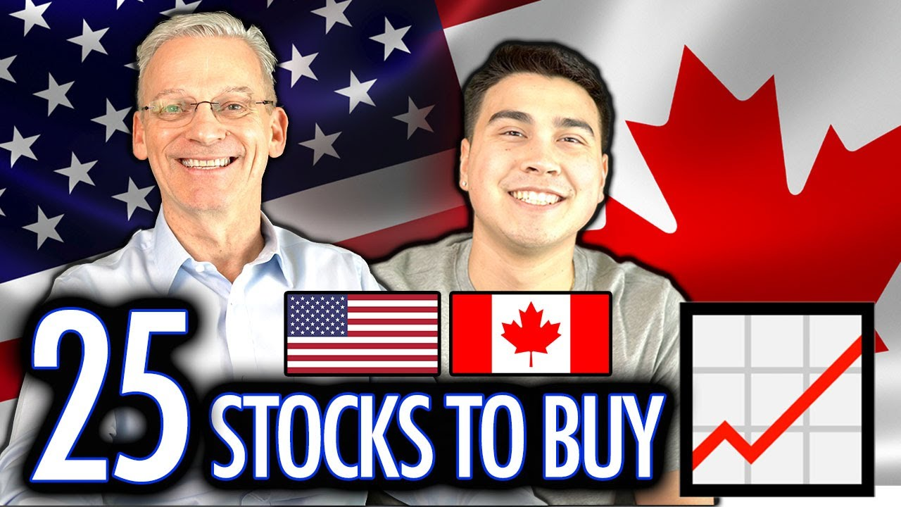 BEST US Stocks To Buy & Own As A CANADIAN INVESTOR - Master List (2021)