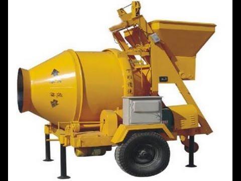 How to use JZC350 concrete mixer