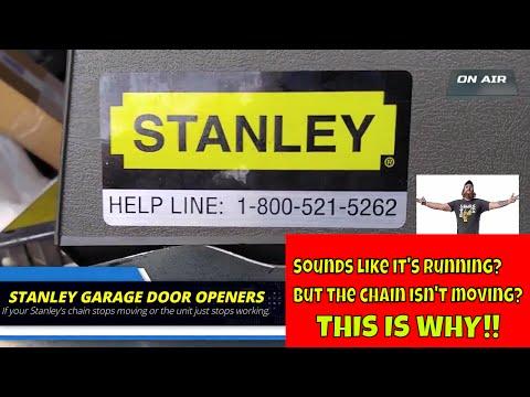 Stanley Garage Door Opener Not Working?  This Could Be Why!