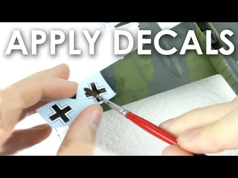 How to Apply Decals to Scale Models
