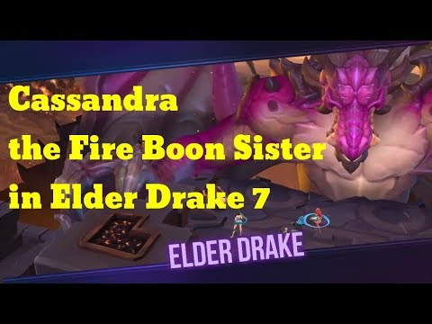 Dungeon Hunter Champions Cassandra the Fire Boon Sister in Elder Drake 7