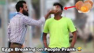 EGGS BREAK IN MOUTH PRANK ON PUBLIC  2021 BEST PRANK EVER   PRANK IN INDIA   By The Crazy Infinity