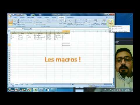 TP#1 Défi#3 : Les macros sous Excel 2007