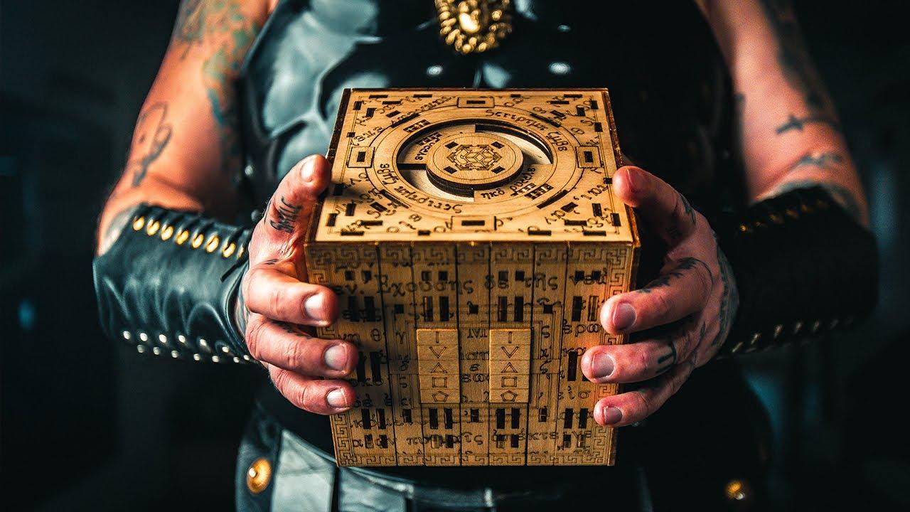 Solving The Mysterious SCRIPTUM CUBE Puzzle Box!!